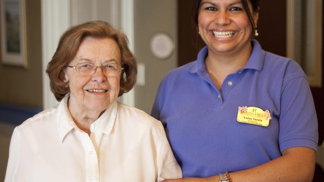 Residents at Spring Hills Morristown Assisted Living become like family to the associates.