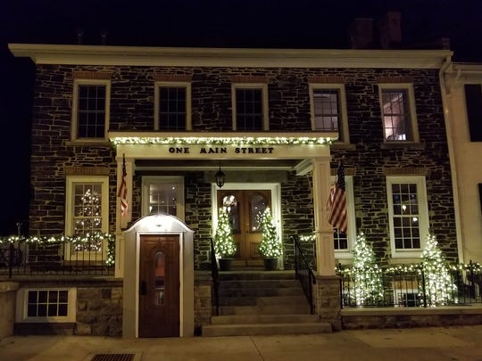 Farmer's Creekside Tavern & Inn in Le Roy is decorated for the holiday.