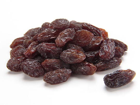 Raisins provide a nutritious snack or a delicious addition