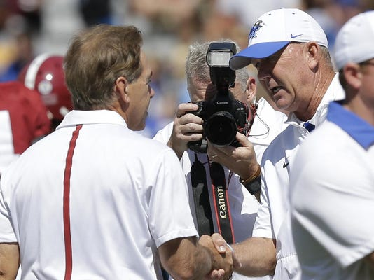 Nick Saban, Rick Stockstill