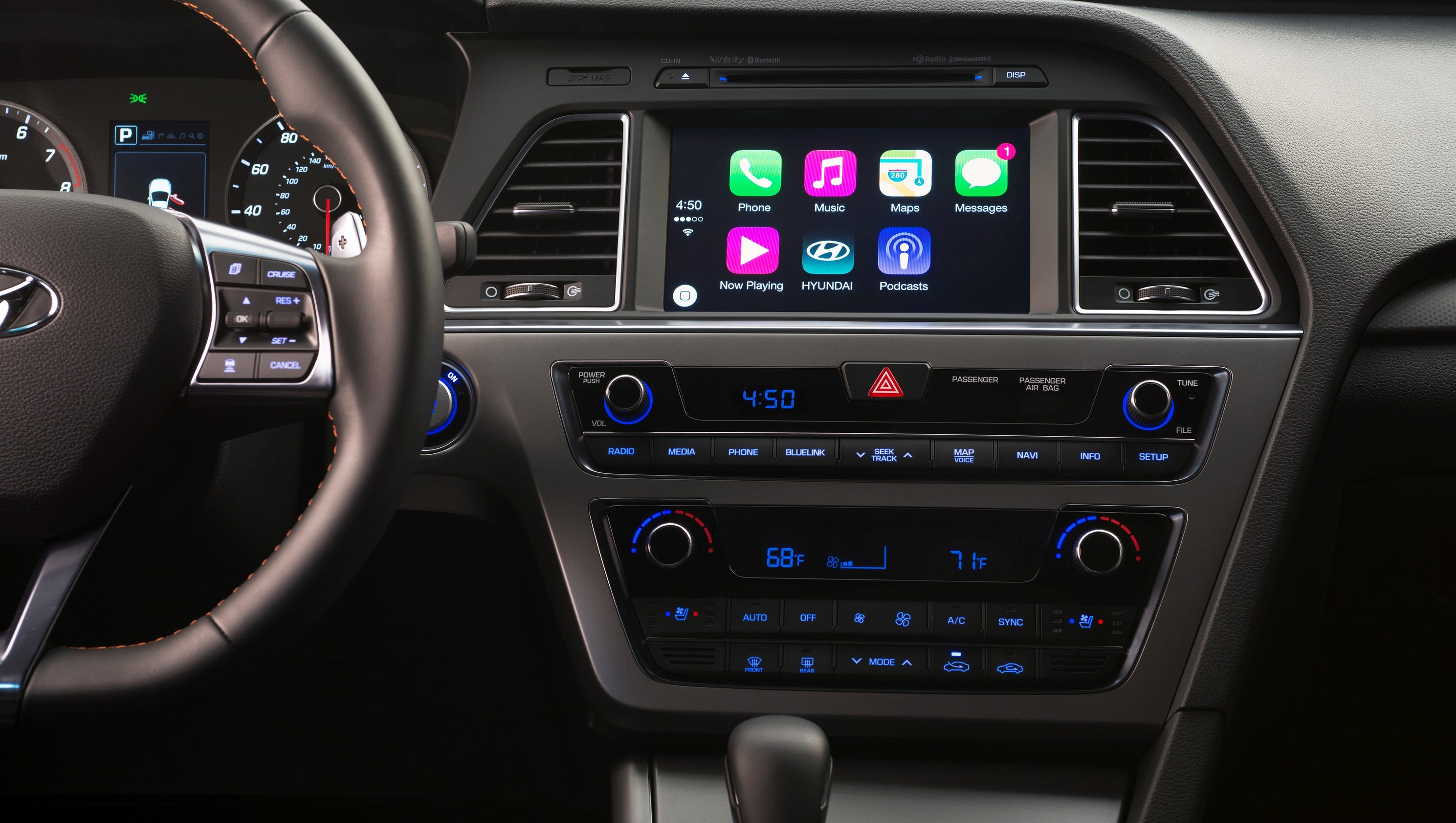 Hyundai Says 2015 Sonatas With Nav System Will Work With