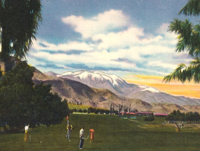 Postcards of palm springs ii for Thunderbird golf course palm springs