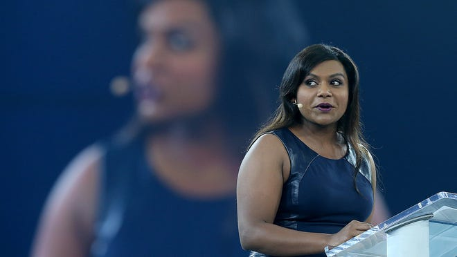 Mindy Kaling Emphasizes The Work At Exacttarget Event