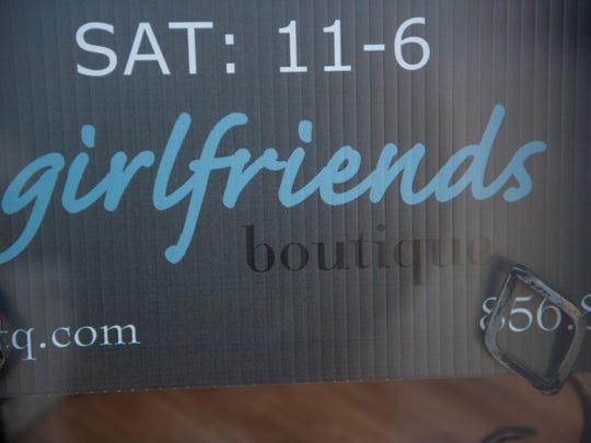 Girlfriend's Boutique in Haddonfield.