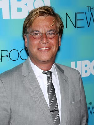 Aaron Sorkin on June 18, 2012 in New York.