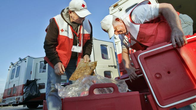 The Red Cross brings help and hope to those in need.
