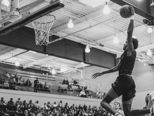 Michigan State basketball recruit Gabe Brown flies