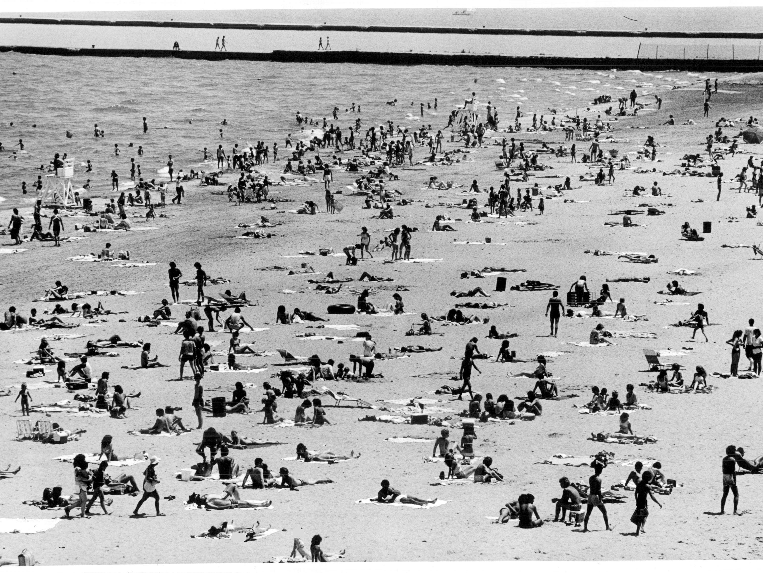 Take a  look at scenes from area beaches through the years