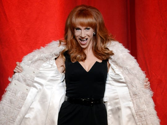 Comedian Kathy Griffin will perform this month in Anderson.