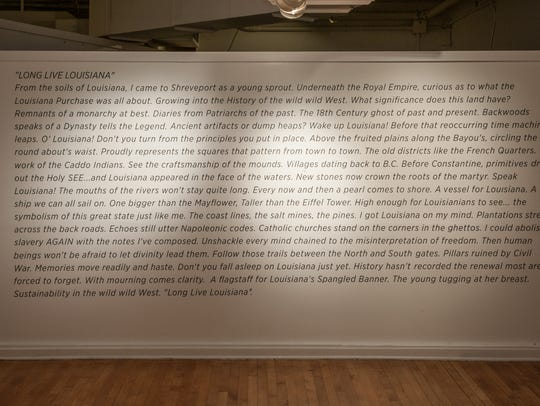PoeticX's solo show was the exhibition of a new poem