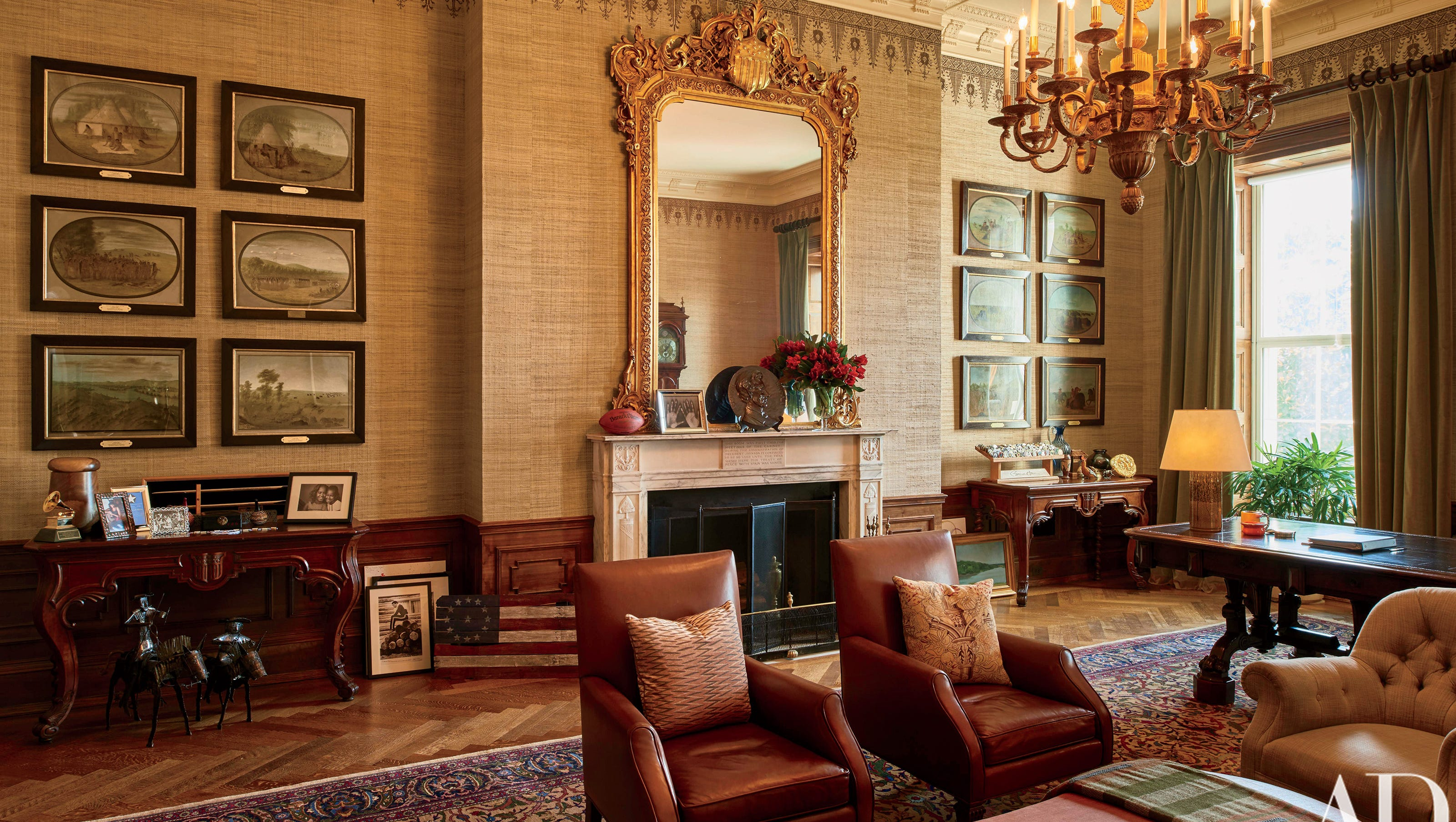 See the Obamas\' White House private quarters for the first time