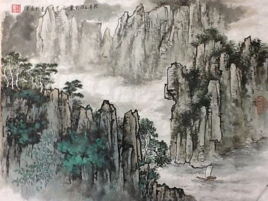 Skiff Through Thousands of Mountains by Sissi Ko Lu.jpg