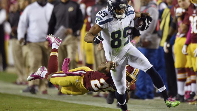 Gulf Breeze High graduate Doug Baldwin is the Seattle Seahawks leading receiver as they enter NFL Divisional Playoffs today against Carolina Panthers.