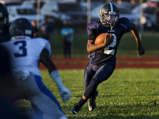 Fullback Elle Harden leads a Lake Forest offense that expects to be much improved this year.