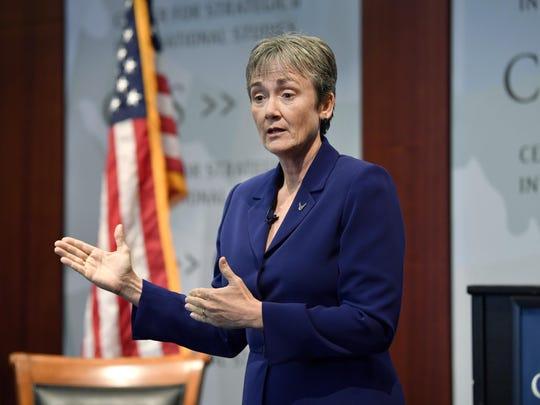 Secretary of the Air Force Heather Wilson will speak in Shreveport on Wednesday.