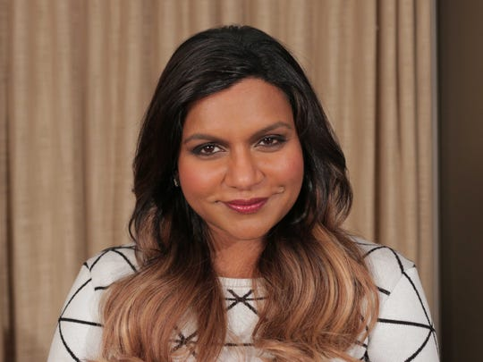 """Mindy Kaling, star of Fox's """"The Mindy Project,"""" loves"""