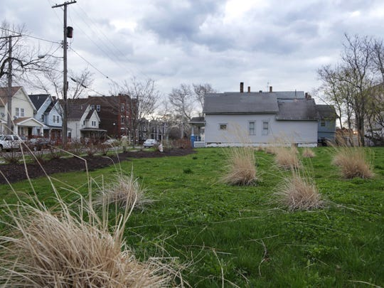 An empty lot at 2207 Seymour Ave. in Cleveland, where