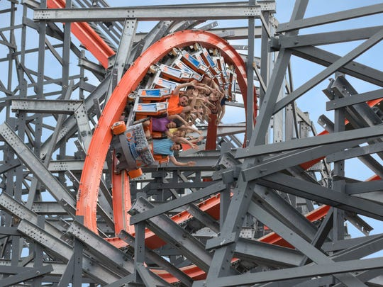 10Best readers chose Wicked Cyclone at Six Flags New
