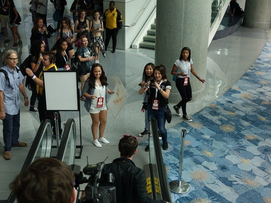 YouTube performer Toby Turner is about to be mobbed