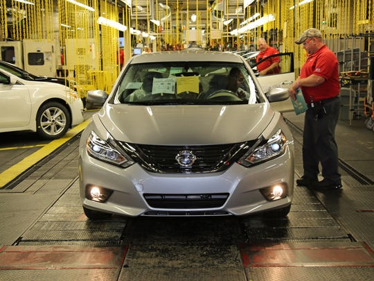 On Monday Nissan launched production of the newly redesigned