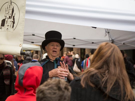 Thousands turned up for Ithaca's first-ever Wizarding