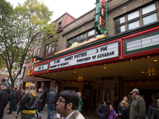 The State Theatre had two Harry Potter movie screenings