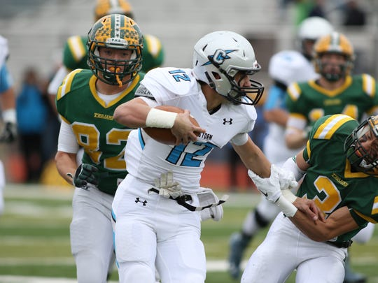 Mayfield's Ethan Alvarado tries to hold on to Cleveland
