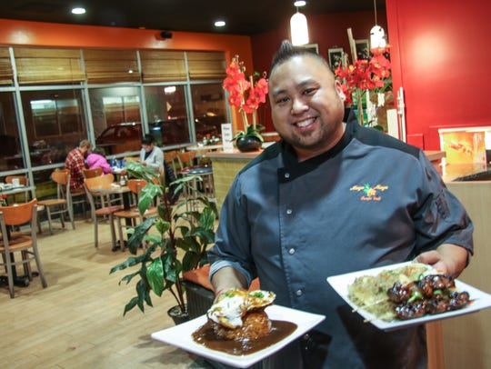 Chris Natac is co-owner and chef at Maya Maya Pacific
