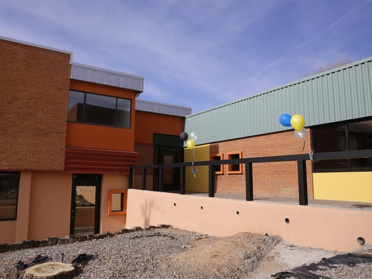 The new Navajo Nation Department for Self Reliance location in Farmington is pictured Dec. 10.