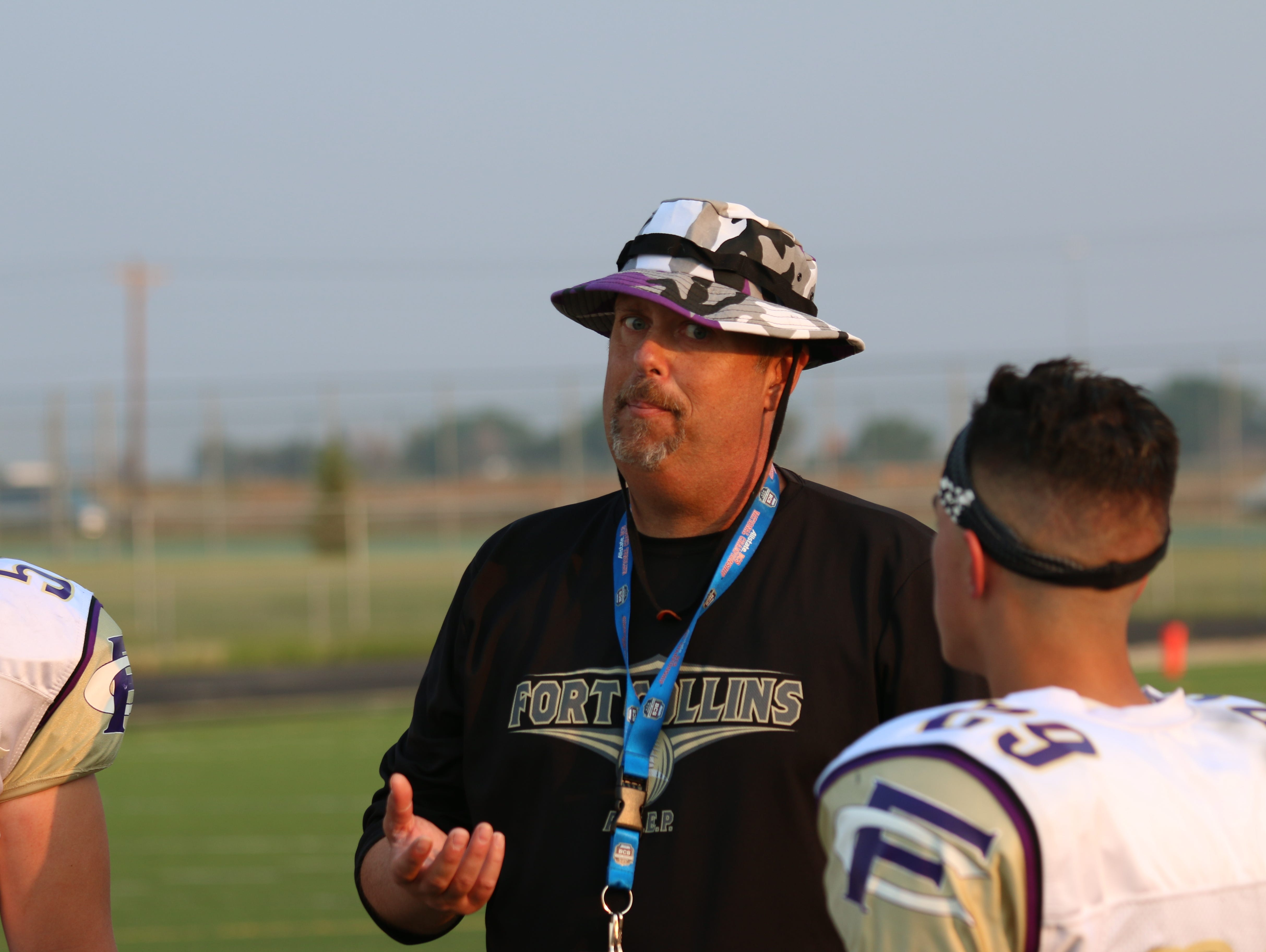 Fort Collins High School assistant football coach Greg Mount died from cancer last week.