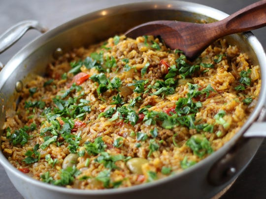Moroccan-style Rice.
