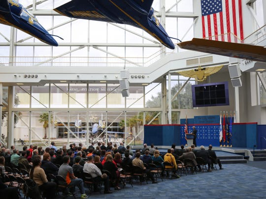 Friday was the first day of Cyberthon 2016, a three-day event geared towards sparking interest in cyber security careers. Opening ceremony took place at the National Naval Aviation Museum.