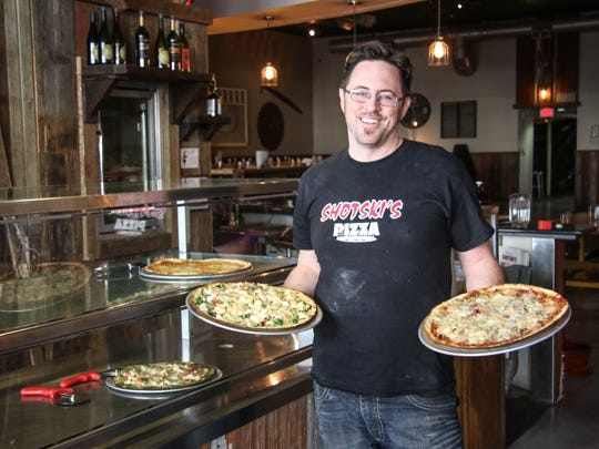 Josh Parker is owner of Shotski's Wood-fired Pizza at 1230 State St. NE, photographed Feb. 2, 2016.