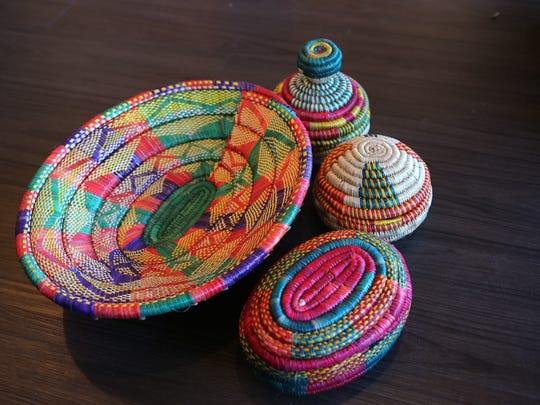Market Lalibela will sell these brightly colored hand-woven