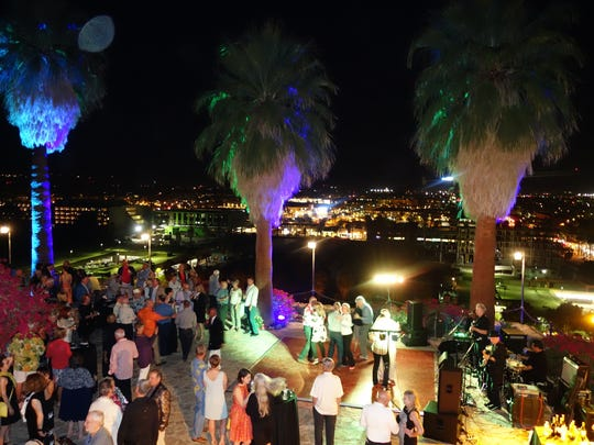 Martinis on the Mountain, a Modernism Week party, attracted