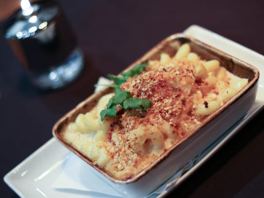 Lobster Mac and Cheese is served at The Barlow Room in Dayton.