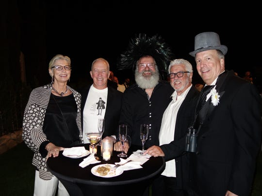 Palm Springs Exe. Dir. Elizabeth Armstrong, William Butler, Vice Chairman Jacque Coussin, David Francis, Gary Smaby.