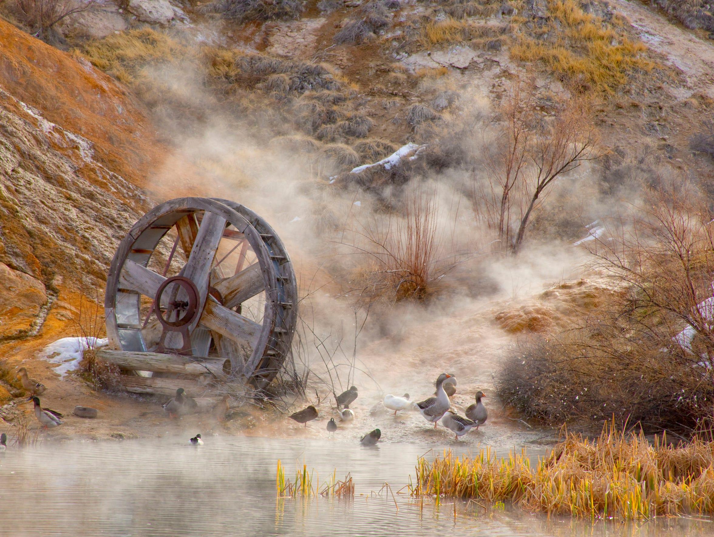 Mystic Hot Springs, Utah
