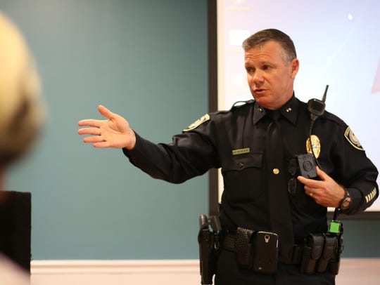 Deputy Chief Carl Metzger talks about the department's
