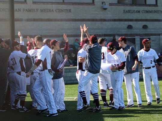 The Earlham College baseball team is one victory away