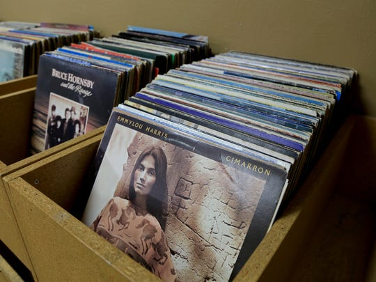 About 2,000 used vinyl records are available at Vintage Music & Pawn in St. George.