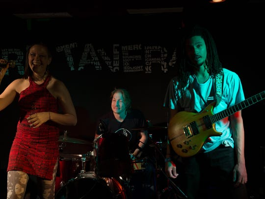 The jazzy-punk spoken word of gHyp:See & the Wichts