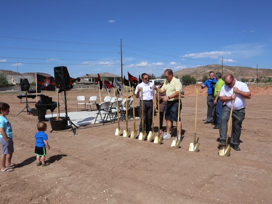 The St. George Academy broke ground in Washington City