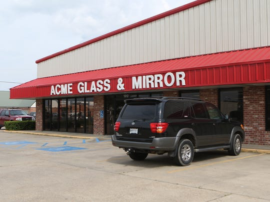 ACME Glass & Mirror sits at 1312 Louisville Avenue