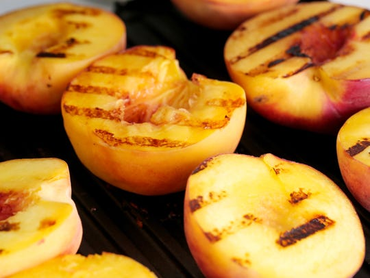 Grilling peaches adds a caramelized new dimension to