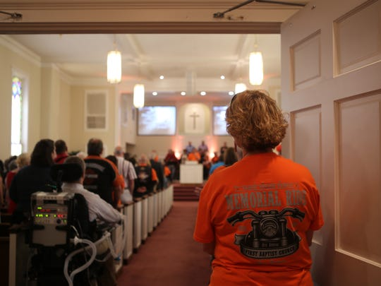 First Baptist Church in Dyer hosted the eighth annual Tanya Taylor Memorial Ride. Taylor, her husband, and two sons were killed in a 2006 tornado in Bradford.