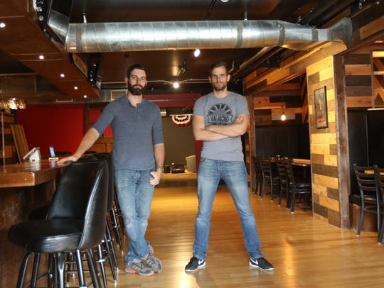 Vagabond Brewing co owners Dean Howes and Alvin Klausen