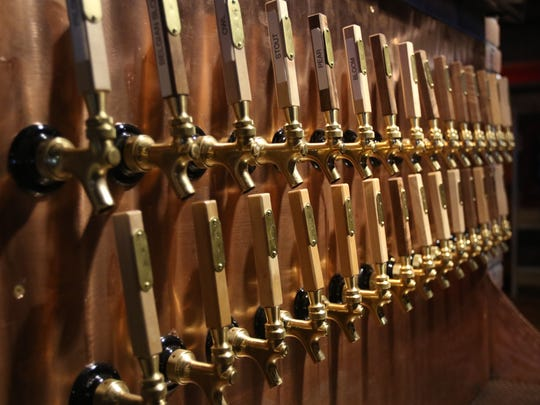Victory Club has 35 taps with two dedicated to beers from each of the Salem brewers Santiam Brewing, Gilgamesh and Salem Ale Works, and the rest are devoted to Vagabond's brews as well as local cider.