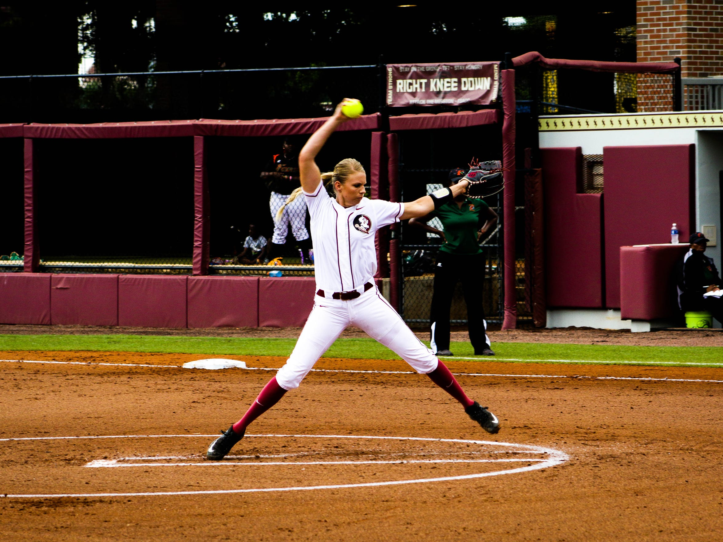 Jessica Burroughs returns as FSU's ace on the mound