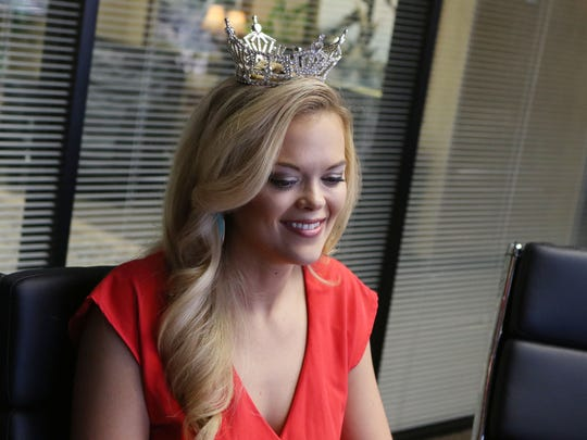 April Nelson, talks about what she has learned in the past year as Miss Louisiana 2015, her favorite parts of the job and her plans for the future in Monroe.